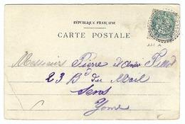 FRANCE 1904: CP De La Schucht (Vosges) Avec Beau CAD En Tiretés - 1900-29 Blanc