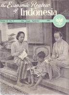 Tijdschrift Magazine - The Economic Review Of Indonesia -  1951 - Economie Indonesië - Revues & Journaux