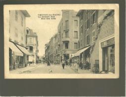 74 Thonon Les Bains Rue Des Arts édit. Coll.dn Hêne Animée Magasin Libvrairie Chaussures - Thonon-les-Bains
