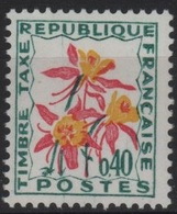 FR/TAX 75 - FRANCE N° 100 Neufs** - Portomarken