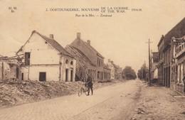 1914-18 / OORLOG / GUERRE /  OOSTDUINKERKE / ZEESTRAAT - War 1914-18