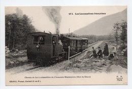 - CPA LES LOCOMOTIVES FRANCAISES - Chemin De Fer à Crémaillère De Chamonix-Montenvers (Mer De Glace) - - Trains
