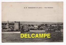DD / 62 PAS DE CALAIS / MARQUISE / VUE GENERALE / 1917 - Marquise