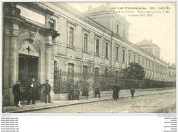 46 CAHORS. Lycée Gambetta Hôpital Temporaire 1916 - Cahors