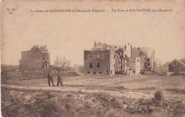 1914-18 / OORLOG / GUERRE / OOSTENDE / MARIAKERKE / RAVERSIJDE / RUINES VAN WONINGEN - War 1914-18