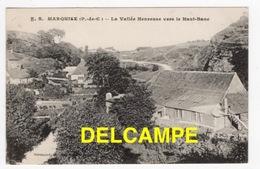 DD / 62 PAS DE CALAIS / MARQUISE / LA VALLÉE HEUREUSE VERS LE HAUT-BANC / 1917 - Marquise