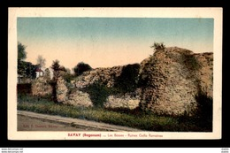 59 - BAVAY - LES BOSSES - RUINES GALLO ROMAINES - Bavay