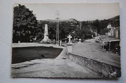Cpsm La SALVETAT-sur-AGOUT   Place Et Monument Aux Morts - Autres Communes