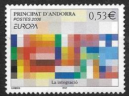 Andorre 2006 N°627 Neuf Europa L'intégration - Nuovi