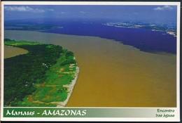 °°° 19880 - BRASIL - MANAUS - ENCONTRO DAS AGUAS - 1998 °°° - Manaus