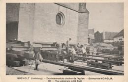 BOCHOLT DEPLACEMENT DU CLOCHER DE L,EGLISE - Bocholt