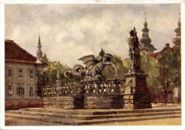 Klagenfurt, Lindwurm Und Oberbürgermeisteramt Am Adolf-Hitler-Platz (3) - Klagenfurt