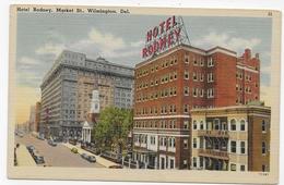 (RECTO / VERSO) WILMINGTON - HOTEL RODNEY - BEAU TIMBRE - FORMAT CPA VOYAGEE - Wilmington