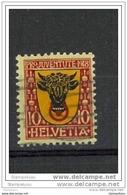 A1 - Pro Juventute 1918 - 10 Cts Oblitéré - Canton Uri - No Yv. 168 - Usati