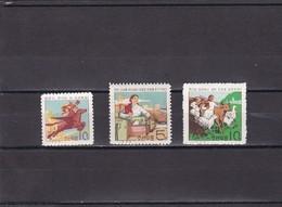 Corea Del Norte Nº 561 Al 563 - Korea (Nord-)