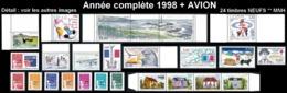 ST-PIERRE ET MIQUELON  - Année Complète 1998 + AVION - Yv. 663 à 685 + PA 78 ** Faciale= 15,00 EUR - 24 Tp .Réf.SPM11774 - St.Pierre & Miquelon