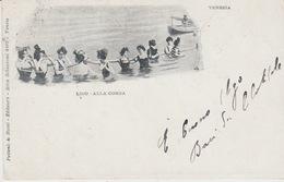VENEZIA - LIDO ALLA CORDA - VIAGGIATA 1901 - Venezia (Venice)