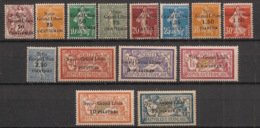 Syrie - 1923 - N°Yv. 88 à 104 - Série Complète - Neuf Luxe ** / MNH / Postfrisch - Syria (1919-1945)