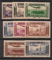 Syrie - 1937 - Poste Aérienne PA N°Yv. 78 à 85 - Série Complète - Neuf * / MH VF - Siria (1919-1945)