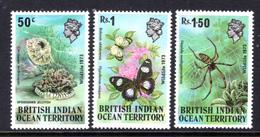 1968 - BRITISH INDIAN OCEAN TERRITORY - Mi  54/56 - NH -  (CW1822.38) - Francobolli