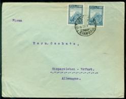 Türkei 1923 Umschlag Von Konstantinopel Nach Erfurt - Lettres & Documents