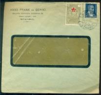 Türkei 1936 Umschlag Aus Istanbul - 1921-... Republiek