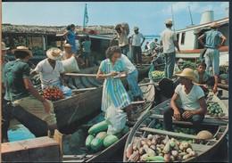 °°° 19883 - BRASIL - MANAUS - CENA DA PRAIA DO MERCADO °°° - Manaus