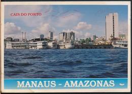 °°° 19884 - BRASIL - MANAUS - CAIS DO PORTO - 1996 With Stamps °°° - Manaus