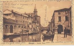VENEZIA - CHIOGGIA CANALE VENA - VIAGGIATA  1953 - Venezia
