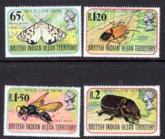 1976 - BRITISH INDIAN OCEAN TERRITORY - Mi  86/89 - NH -  (CW1822.38) - Francobolli