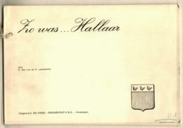 ZO WAS ... HALLAAR  40 BZ Postkaarten Oude Foto's + Text - épreuve D'édition Editie Test - Uitg. DE VRIES BROUWERS - Libri & Cataloghi