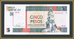Cuba 5 Pesos 2013 FX 48 (48f) UNC - Cuba