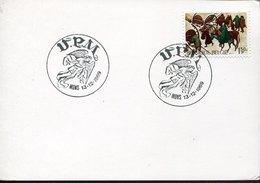 52582 Belgium, Special Postmark 1969  Mons, Engel,  Angel - Christianisme