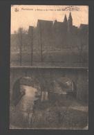 Maredsous - L'Abbaye Vu De L'Hôtel De Belle-Vue - Anhée