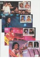 St Vincent - 1985 - FDC - Michael Jackson - Mi N. 890/97 - Chanteurs