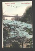 Gileppe - Barrage De La Gileppe - Chute Du Barrage - 1908 - Gileppe (Barrage)