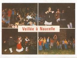 Carte Postale Naucelle Une Veillée De Campeurs - Altri Comuni