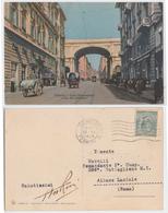 Genova - Ponte Monumentale E Via XX Settembre, 1918 - Genova