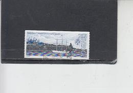 SVEZIA 1985 - Unificato 1323° -  T.C.S. - Nave - Svezia