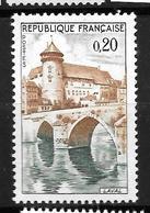 1961-chateau Eu Pont Vieux Sur La Mayenne/YT 1330 / Neuf ** - Neufs