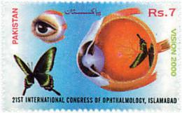Ref. 77491 * NEW *  - PAKISTAN . 1998. 21st INTERNATIONAL CONGRESS OF OPHTHALMOLOGY. 21 CONGRESO INTERNACIONAL DE OFTALM - Pakistan