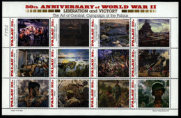 Ref. 598827 * NEW *  - PALAU . 1995. 50th ANNIVERSARY OF THE SECOND WORLD WAR. 50 ANIVERSARIO DE LA SEGUNDA GUERRA MUNDI - Palau
