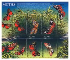 Ref. 233086 * NEW *  - PALAU . 2001. WORLD NOCTURNAL BUTTERFLIES. MARIPOSAS NOCTURNAS DEL MUNDO - Palau