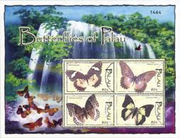 Ref. 225064 * NEW *  - PALAU . 2004. BUTTERFLIES. MARIPOSAS - Palau