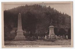 BROUVELIEURES LES DEUX MONUMENTS - Brouvelieures