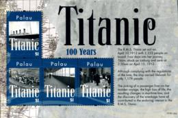 Ref. 278918 * NEW *  - PALAU . 2012. TITANIC. TITANIC - Palau