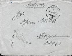 German Feldpost WW2: To Belorussia From Kharkiv In Ukraine - 1. Kompanie Infanterie-Divisions-Nachrichten-Abteilung - WW2