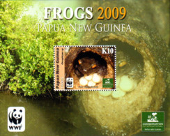 Ref. 227671 * NEW *  - PAPUA AND NEW GUINEA . 2009. FROGS. RANAS - Papua Nuova Guinea