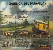Ref. 367994 * NEW *  - PARAGUAY . 1974. CENTENARY OF THE UPU. CENTENARIO DE LA UPU - Paraguay