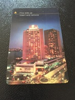 Hotelkarte Room Key Keycard Clef De Hotel Tarjeta Hotel  SHERATON CAIRO HOTEL CASINO & TOWER - Télécartes